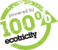 Powered by 100% Green Electricity From Ecotricity