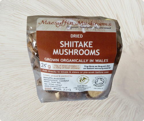 Dried Organic Shiitake - Baby, Whole & Sliced